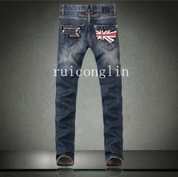 Wholesale 2015 jean men pants robin jeans Slim Straight in Jeans cowboy high fashion famous brand mens blue jeans