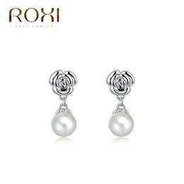 Wholesale Korean version hot sale high grade gold plating pearl earrings earrings a generation of fat ebay selling jewelry platform