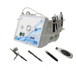 Wholesale 4 in High quality air pump stable water flow skin diamond dermabrasion machine with ultrasonic skin scrubber oxygen spray hydrodermabrasion