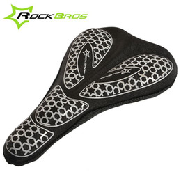 2015 ROCKBROS Fashion High Quality Bicycle Saddle Bicycle Parts Cycling Seat Cover Breathable Memory Foam Cushion For Bike