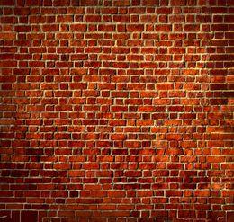 Wholesale 8X8ft Brick Wall theme Vinyl Custom Photography Backdrops Prop Muslin Background ZHQ