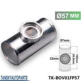 Wholesale High Quality MM quot TURBO Aluminum FLANGE PIPE For HKS SSQV SQV BOV D16 TK BOV01FP57