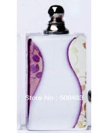 Wholesale Free ship art accept customized ACP016 Crystal Vials perfume bottle pendant rice art DIY