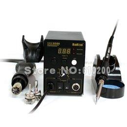 SBK8586 2 in 1 Hot Air Soldering Station Digital SMD Rework Hot Air Gun++ Soldering Station Iron 220V 700W