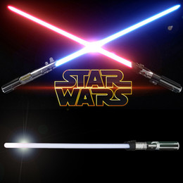 Wholesale Zorn Store Star Wars Anakin to Darth Vader Color Change Lightsaber Toy for Boys Children LED toy sword Flash Sword Red Blue