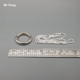 Chain Ring Wire Puzzle Game Funny Smart Toy Educational IQ Brain Teaser Kid Gadget