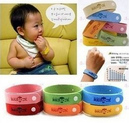 Wholesale Mosquito Killer Repellent Bracelet Mosquito Bangle Wrist For Baby Adult Mosquito Protector Adjustable Health bracelets gift Drop Shipping