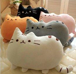 Wholesale pusheen plush toys cat pillow big cushion original cm large soft toy pillows the anime cats plusheen shape