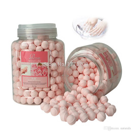 Wholesale New French Manicure Ideas BATHRANI Nail Soaker For Nail care Nail Fizzing Balls Wonderful Bath Rose g Nail Art Supplies