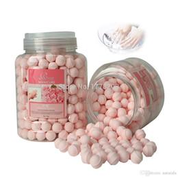 Wholesale New French Manicure Ideas BATHRANI Nail Soaker For Nail care Nail Fizzing Balls Wonderful Bath Rose g Nail Art Supplies