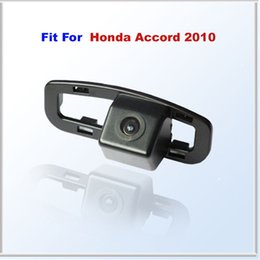 Wholesale Wire waterproof Car Rear View Backup Camera FIT FOR New Honda Accord Waterproof IP67 Wide Angle Degrees CCD order lt no track