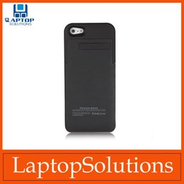 Wholesale For iPhone S Cases External Battery Backup Charger Case Backup Power Bank Support ios system