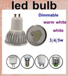 dimmable led lights led spotlight outdoor led spotlight bulb hight power E27 E14 GU10 GX5.3 MR16 with IC AC 85-265V lamp led light DB001