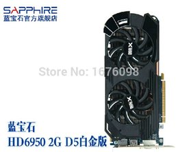 Wholesale Brand ATI MB HD6950 Radeon HD GB GDDR5 Game Video VGA Graphic Card Placa de video card for DESKTOP Kill gtx