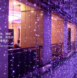 4* 3 m 400 LED curtain light wedding background of window decoration waterproof outdoor LED twinkle light LED holiday lights series