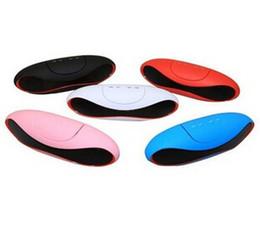 Mini X6U X6 Rugby Football Bluetooth Stereo Speaker Mini Portable Wiress Bluetooth Speaker With MIC USB TF Card Slot FM Handfree 10pcs DHL
