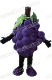Adult Size Grape Mascot Costume Funny Fruits Mascots for Advertising Character Design Arismascots Deguisement Mascotte Carnival Outfits