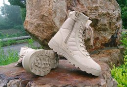 Wholesale New America Sport Army Men s Tactical Boots Desert Outdoor Hiking Boots Military Enthusiasts Marine Male Combat Shoes