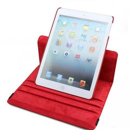 Wholesale Case for iPad air And tempered glass film Flip Cases With Stand Function Luxury Rotation PU Leather for Pad Capa Fundas