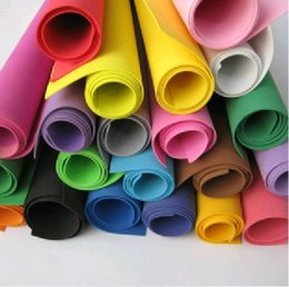 Wholesale 1503 colors for option X50cm sponge foam paper for background scrapbook craft Punch stamping DIY Decor Card Toy