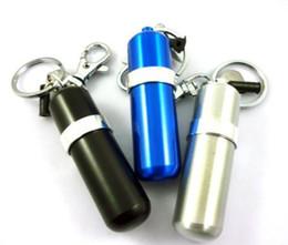 Wholesale MINI FUEL CANISTER KEY CHAIN LIGHTER FLUID for lighter Ourdoor Sport gift lighter
