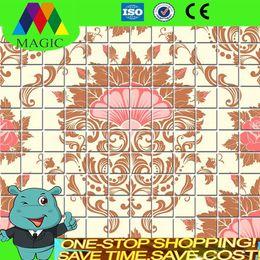 Wholesale mosaic tile mosaic glass tiles mosaic mural Magic mosaic HM140114