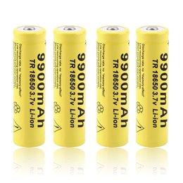 2pcs 3.7V 18650 9900mah Li-ion rechargeable pour LED lampe torche UF soutien aux anciens d'importation Batterie de base Evod Twist Batterie E import support on sale à partir de le soutien à l'importation fournisseurs