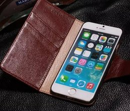 Wallet Classical For Iphone 6 6S Case Genuine Flip Ultra-Thin Slim Purse Cover Colorful Leather Case For Apple Iphone 6 6S