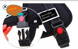 Wholesale 10pcs Sport Dog Harness Sets For Medium Large Adjustable Size S M L XL Pet Chest Set Harness Belt Dog Canvas Harness