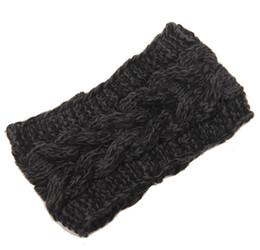 Fashion Womens Adult Lady Crochet Winter Autumn Knit Headbands Warm Hoop Wide Plait Headbands ear warmer Wool Stretch Hair Bands D706J