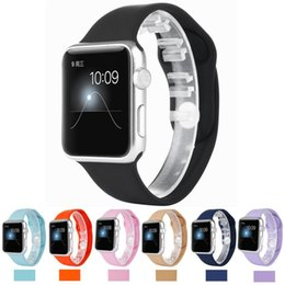 Wholesale 1 original design men weman apple watch band fashion high quality Silicone watch band for apple watch