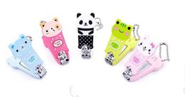 new arrive !2015 children girls boys cartoon animal nail clippers with key chain baby girl many style mix nail clippers 50pcs hot sale