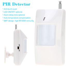 Wireless PIR Infrared Motion Detector Smart Alarm Systems Security Home Wireless Infrared PIR Motion Sensor Alarm