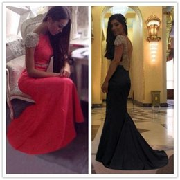 Wholesale 2015 Long mermaid Formal Prom Dresses Party Ball Evening Pageant Wedding Gown