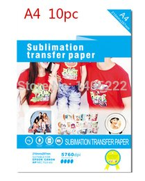 10 X A4 T-shirt Papier Transfert T-shirt à jet d'encre Fer à feu commander 18Personne $ piste tshirt transfers on sale à partir de transferts tshirt fournisseurs