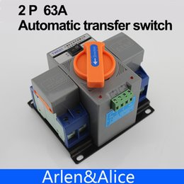 Wholesale 2P A V MCB type Dual Power Automatic transfer switch ATS