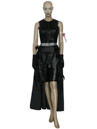 girls sex dress Final Fantasy VII 7 Tifa Lockhart Cosplay Costume womens halloween long dress on hot sale promotion for girl
