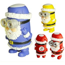 Wholesale High Quality Santa Claus Mini Bluetooth Speakers Portable Super Bass Speakers Mini Loudspeaker for Cell Phone with TF Card for Children Gift