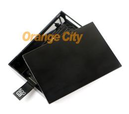 Descuento xbox duro 500GB HDD disco duro disco duro caso para Xbox 360 Slim / Microsoft 500 g 500 GB disco duro caso incluido para xbox360 consola