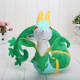 Wholesale Japanese Animation Cute Poke Serperior cm Stuffed Plush Doll Toy New