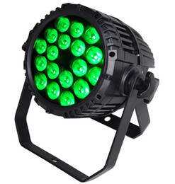 Free shipping Top selling 18X10W Silent IP65 RGBW RGBA Quad color 4 in 1 Outdoor Exterior Lighting