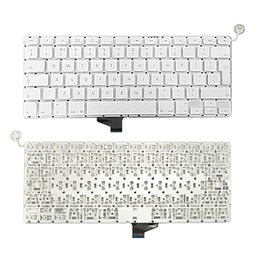 Wholesale Keyboard without Backlit UK Layout Replacement Part For Apple Unibody MacBook A1342 Late to Mid Year