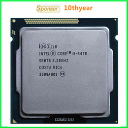 Wholesale I5 I5 Intel Original desktops cpu Intel Core I5 Quad Core I53470 Ghz M nm LGA