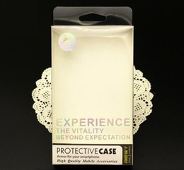Universal hot silver PVC Transparent Plastic Retail Package Box with Blister inner holder For Phone Case For iphone 6 6S Plus Samsung S6