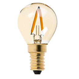 Wholesale Retro LED Antique Filament Bulb G40 W K Gold Tint E12 E14 Bae Decorative Household Lighting Dimmable