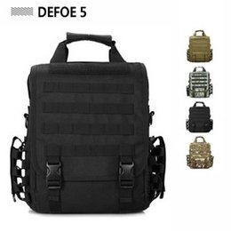 Wholesale Messenger Shoulder Cross Body Tote Bag Molle Woodland Sustainment Multi functional Advance Army Durable Tactical Pack
