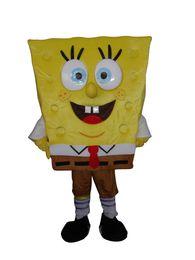 Wholesale sponge bob mascot costume NEW model great quality