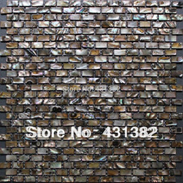Wholesale FACTORY DIRECTLY Decorative shell mosaic tiles mother of pearl mosaic tiles kitchen backsplash tiles bathroom mosaic tile