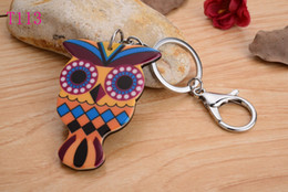 New OWL head Silicon Key Caps Covers Keys Keychain Case Shell Novelty Item Key Accessories Car Keychain Ring