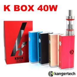 High clone Kanger Kbox 40W box mod Variable Wattage Sub Ohm Vapor mod 5 colors VS sub box mini ipv4 for Subtank Mini